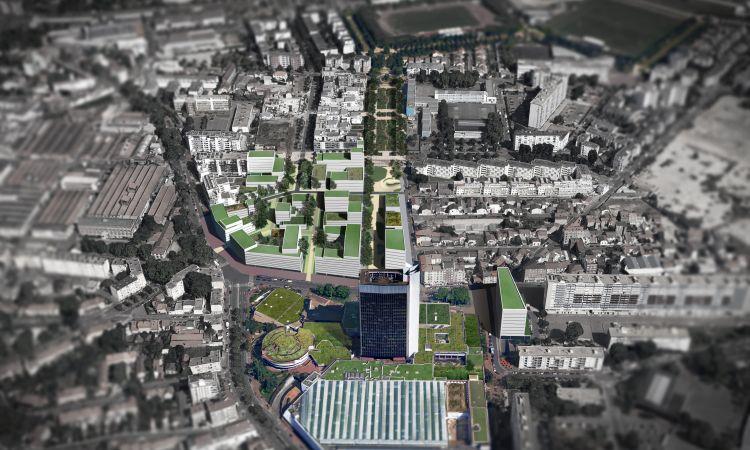 Maîtrise d'œuvre urbaine de la ZAC Centre Ville